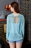 Bowknot rückseitiger Wasser-Absinken Unterbrecher-Pullover