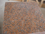 Mattonelle di pavimentazione rosse del granito G562 del bello drago di Rojo