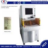 запечатывание 50W автоматически машина маркировки лазера 4 станций роторная