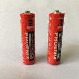 MSDSの証明書が付いている1.5V AAの余分頑丈な電池(R6P)