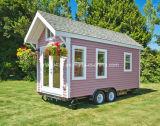Casa prefabricada de la caravana de la casa del acoplado móvil de la venta de la casa del acoplado de 2017 móviles