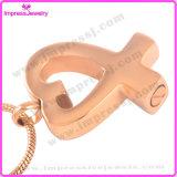 Querbinder-Verbrennung-Urne-hängende Halskette für Aschen-Andenken-Einfluss (IJD8938)