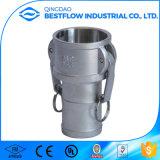 Aluminiumnockensperre-Kupplung-Typ c-weiblicher Schlauch-Schaft