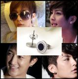 Estilo de moda Star Black Earrings China Supplier Wholesale Men Brinco
