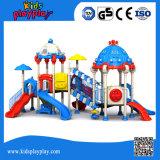 Populäres Kind-Spielplatz-Geräten-im Freienspielplatz mit Plättchen (KP1512438)