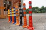 Столбы гловальной гибкой дороги пластмассы полиэтилена предупреждающий