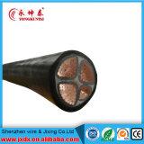 Câble électrique souterrain isolé et fil électrique flexible de construction
