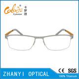 Bunter leichter Voll-Rahmen Titanbrille Eyewear optische Glas-Rahmen (9106)