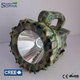 färbt hohes Lumen 10W CREE LED Fackel-Taschenlampen-Militär