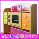 Кухни 2016 игрушка W10c013 верхней детей сбывания деревянной установленная