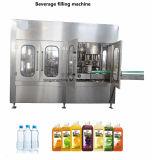 Bebidas carbonatadas totalmente automáticas Lavagem-enchimento-tapando Máquina de engarrafamento 3-in 1
