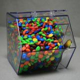 Coffres acryliques faits sur commande de sucrerie (coffre rond de face)