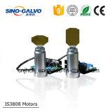 Analoger CO2 Galvo-Scanner Js3808 für Laser-Gewebe-Ausschnitt-Maschine