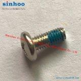 Tornillo de la precisión con el azul de nylon de la corrección