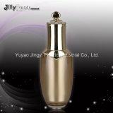 La bottiglia crema di plastica per l'estetica gradice la bottiglia senz'aria