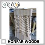 Cerca de madera de la escalera de la escalera del precio de fábrica