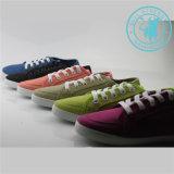 Chaussures colorées d'injection de chaussures de toile de chaussures d'hommes/femmes (SNC-011307)