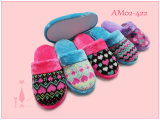 Winter Warm Ladies Nice Plush Animal Deer Slipper