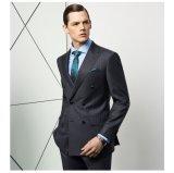 Doppeltes Breasted Mens-Grau entspricht Form-Kleidung