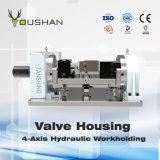 Dispositivo elétrico hidráulico da carcaça de válvula 4-Axis