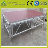 Kundenspezifisches im Freienleistungs-Furnierholz-bewegliches Aluminiumstadium