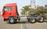 Sinotruk 6X4 371HPのトラクターヘッドトラックの重いトラクター