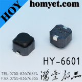 6 * 6 * 5mm 2pin SMD Waterproof Tact Switch para máquina (HY-6601)