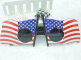 Óculos de sol do partido e da novidade da bandeira americana (GGM-209)