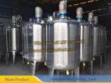Réacteur de réservoir de réaction chimique d'acier inoxydable du réacteur chimique 500L
