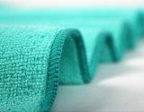 Alta toalla relampagada Microfiber de la absorción con el bordado (dicromático)