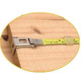 los ABS de los 50m ayunan cinta métrica de acero larga el rebobinar con la lámina marcada doble