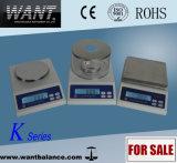 Elektronische wiegende Schuppe (0-30kg/0.001g-0.1g)