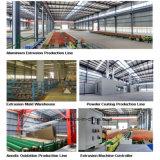 Profil en aluminium de granulation en bois d'usine de la Chine pour le guichet en aluminium/porte