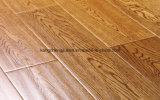 El estilo de Embossmen dirigió el entarimado de madera de madera de roble/el suelo laminado