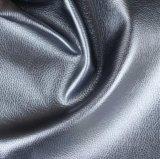 Couro sintético do couro do sofá do PVC do teste padrão do Litchi para a mobília (806#)
