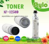 Tonalizador preto Cartrdige 1250d/1150d para o uso em Ricoh Aficio 1013