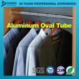 Perfil modificado para requisitos particulares del aluminio del tubo del guardarropa de la venta directa de la fábrica