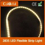 Alta luz de tira flexible impermeable de los lúmenes DC12V SMD2835 LED
