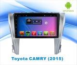 Toyota Camry 2015のためのアンドロイド6.0システムGPS運行車DVD WiFi/TV/MP4の10.1インチのタッチ画面