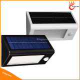 32 da luz solar impermeável do jardim do diodo emissor de luz do diodo emissor de luz luzes solares ao ar livre pstas solares da lâmpada de parede do sensor de movimento