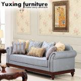 Sede di amore americana dello strato dell'unità di elaborazione del sofà antico del tessuto per il salone