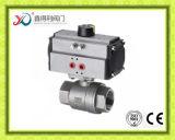 중국 공장 Pn63 2PC 스테인리스 스레드된 DIN 공 벨브