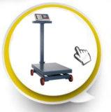 4개의 바퀴를 가진 Platfrom 가늠자를 계산하는 디지털 전자 가격