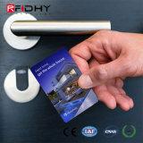 Tarjeta inteligente de la identificación del PVC Tk4100 RFID de la venta caliente para el hotel