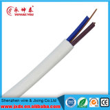 Кабельная проводка твиновского медного сердечника Rvvb2*2.5mm 300/500V изолированная PVC гибкая электрическая