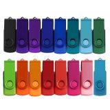 Bestes Preis-Förderung-Geschenk-kundenspezifisches Firmenzeichen-Schwenker USB-Blitz-Laufwerk