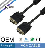 VGA van Sipu Kabel 15pin de Mannetje aan Mannetje 3FT Kabel van HD