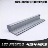 Perfil de alumínio da extrusão de 4134 diodos emissores de luz para a iluminação da escada com RoHS