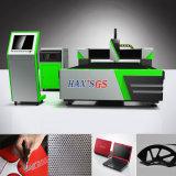 Máquina de estaca do laser da fibra do CNC do GS de Han para o metal