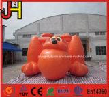 Bouncer animal bonito inflável do Bouncer inflável alaranjado do cão